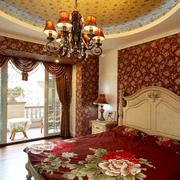 欧式风格公寓卧室