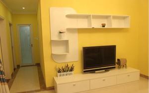 东南亚客厅电视背景墙效果图