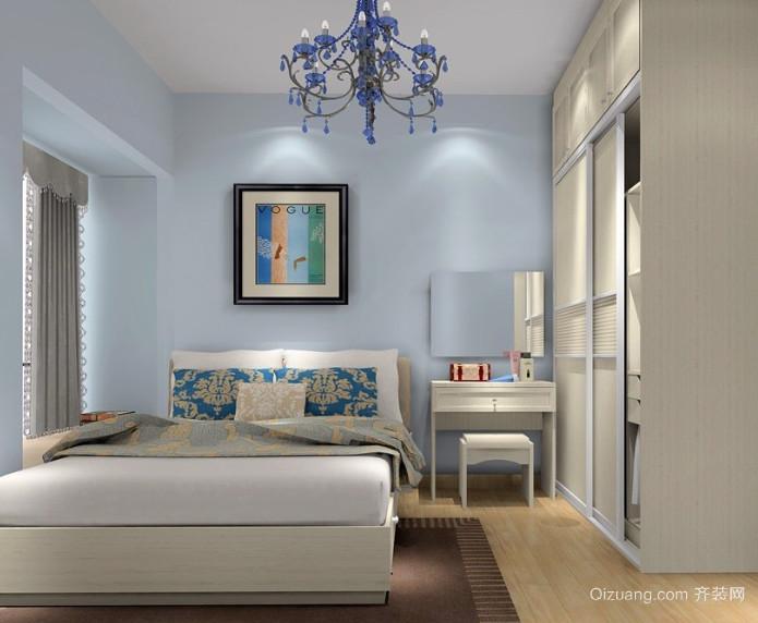 30平米自然清新韩式卧室装修效果图