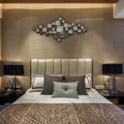 欧式风格简约卧室床头背景墙装饰