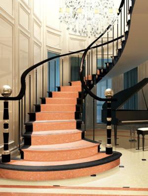 70平米欧式复式楼梯装修效果图