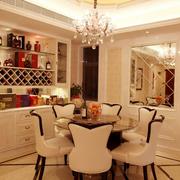 欧式风格奢华餐厅吊顶装饰