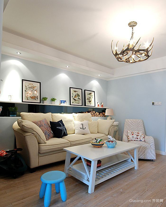 客厅木地板设计欣赏