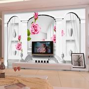 现代简约风格3D电视背景墙装饰