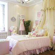 欧式公主系儿童房石膏板吊顶装饰