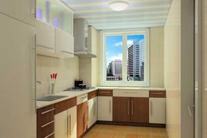 淡色调厨房橱柜设计