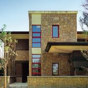 后现代风格别墅石制外墙装饰