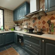 淡色调厨房装修设计