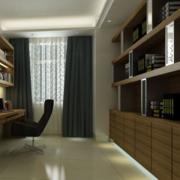 后现代风格书房装饰效果图
