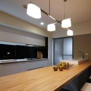 时尚风格厨房吧台设计