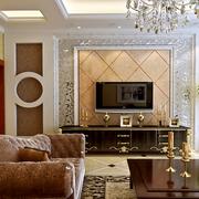 欧式风格软包背景墙装饰