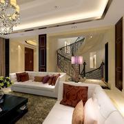 客厅楼梯设计大全
