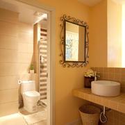 东南亚风格暖色系卫生间装饰