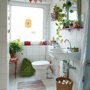 北欧风格清新卫生间装饰