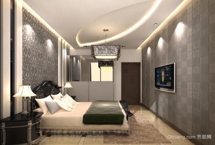 30平米后现代简约时尚卧室装修效果图