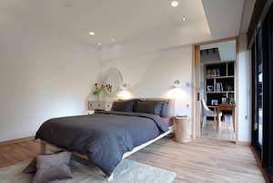 90平米混搭风格二居装修效果图