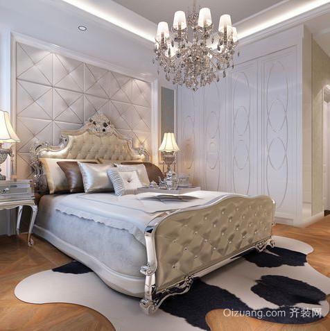 50平米简欧风格卧室装修效果图