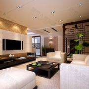中式风格客厅吊顶大全