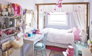 欧式公主系儿童房装饰