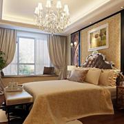 欧式风格卧室软包床头背景墙装饰