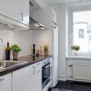 小户型简约风格一字型厨房装饰