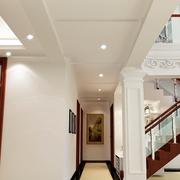 简约风格走廊吊顶设计