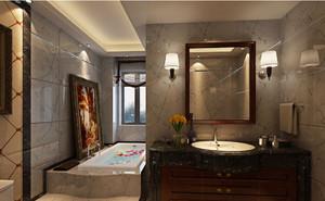 欧式复古浴室装修效果图