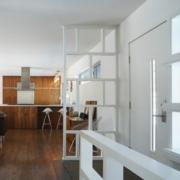 后现代风格清新系客厅隔断设计