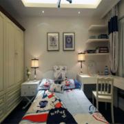 地中海风格儿童房衣柜装饰