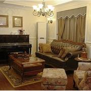 暖色调房子装修图片