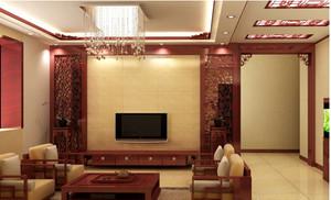 自然风格电视墙装修