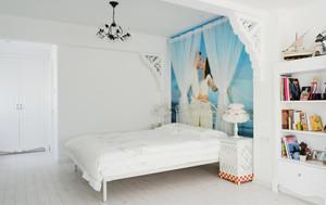 别墅型现代时尚地中海风格卧室效果图