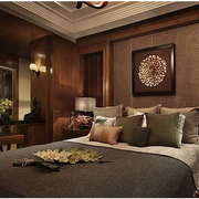 灰色调卧室装修图片