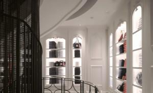 100平米精美欧式风格服装店装修效果图
