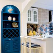 时尚风格厨房装修设计