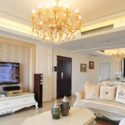 温馨型客厅吊顶设计