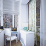 北欧风格简约书房桌椅装饰