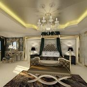 欧式风格奢华卧室壁纸设计