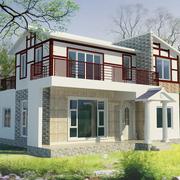 两层小型别墅外墙装饰