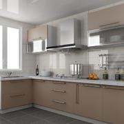 后现代风格浅色清新厨房橱柜装饰