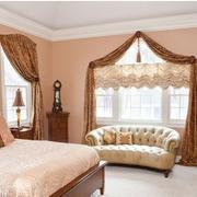 欧式卧室窗帘装饰设计