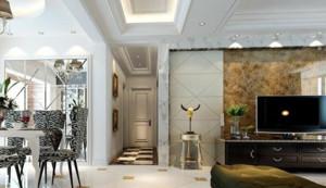 客厅简约风格过道吊顶装饰