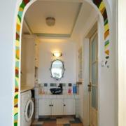 简约风格卫生间拱形门装饰