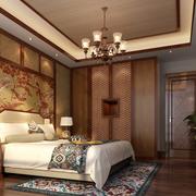 中式风格卧室吊顶装饰