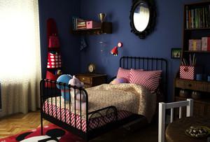 沉稳型卧室装修图片