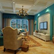 客厅简约风格石膏板吊顶装饰