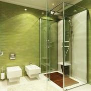 卫生间小型独立淋浴装饰