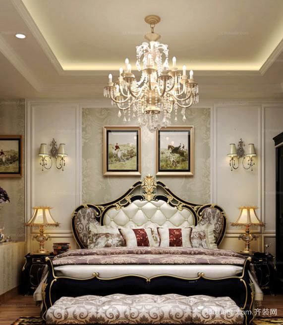 奢华大气新古典风格卧室装修效果图