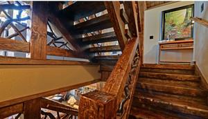 美式简约复古楼梯装饰