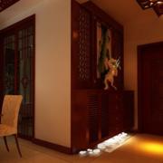 东南亚风格进门鞋柜装饰